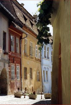 Sighisoara, Romania. One of the best preserved medieval cities in Europe.