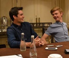 Dylan O'Brien and Thomas Brodie-Sangster