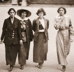 Wave Feminism: Suffragettes on the march---Vote, Ladies! But if you choose not to, that's okay too, because really that fight was for the RIGHT to vote, not to MAKE you vote. Victor Hugo, Les Suffragettes, Women Right To Vote, Suffrage Movement, Equal Rights, Thats The Way, Before Us, Women In History, Portraits