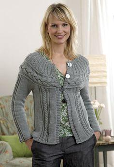 Strik en fletning på tværs af trøjen - Strik til hende - Håndarbejde og strikkeopskrifter - Familie Journal