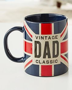 Grab the Vintage DAD mug as an awesome gift this father's day and just wait to see the simile on his face. http://www.voucherbin.co.uk/stores/the-brilliant-gift-shop/