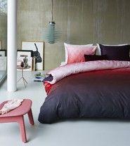 Kardol & Verstraten dekbedovertrek Brilliance rood morpheus beddengoed