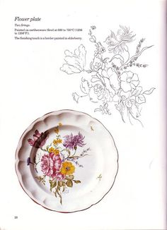 Painting on Porcelain Annik Perret - TXURI - Picasa Web Albums
