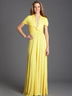 Yellow Von Vonni Long Transformer Dress!