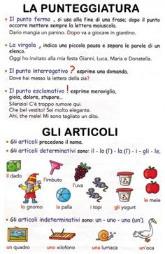 compendio di regole grammaticali 4 Italian Grammar, Italian Words, Italian Language, Learn To Speak Italian, Italian Lessons, Grammar Rules, Learning Italian, Creative Teaching, Educational Activities