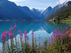 Norway ~ a recent survey says it's the happiest country in the world.  If it looks like this, I'm a believer.