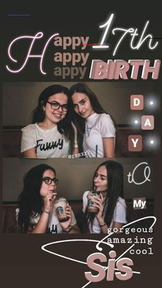 ✰h a p p y b i r t h d a y✰ - #17thbirthday Friends Instagram, Instagram And Snapchat, Instagram Blog, Instagram Story Ideas, Instagram Quotes, Creative Instagram Photo Ideas, Instagram Photo Editing, Insta Photo Ideas, Birthday Post Instagram