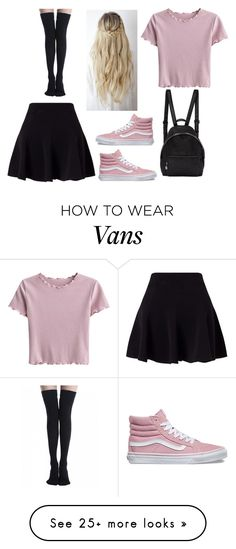 """""""Untitled #807"""" by alicarson on Polyvore featuring Miss Selfridge, STELLA McCARTNEY and Vans"""