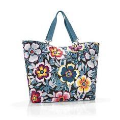 Torba Reisenthel Shopper XL 35l, flower | sklep PrezentBox - akcesoria, zegary ścienne, prezenty