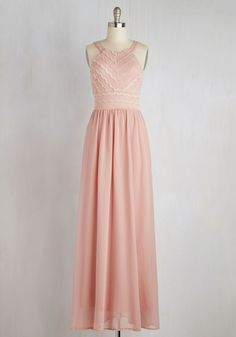 Outfit of the Sway Maxi Dress. Breeze into this rose pink maxi dress and let the selfies begin! #pink #modcloth