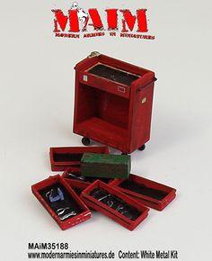 Workshop Tool Box - used Version / 1:35