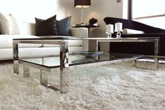 Mesa Singapur. De la Colección Metrópolis. #livingdesign #muebles