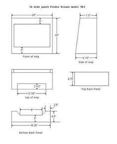 Image result for guitar amp cabinet plans | Speaker Cabinets ...