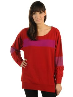 Sonia by Sonia Rykiel Pull ML Oversize Details Trico, coeur/multico