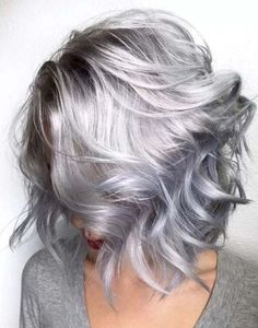 85 Silver Hair Color Ideas and Tips for Dyeing short hairs
