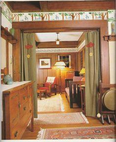 Arts & Crafts | Craftsman | Mission | Bungalow | Interior Design