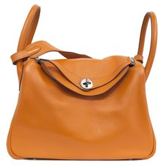 MODASELLE - Hermes Orange Swift Leather Lindy 30 Tote/Shoulder Bag, CAD $6,500.00 (http://www.modaselle.com/hermes-orange-swift-leather-lindy-30-tote-shoulder-bag/)