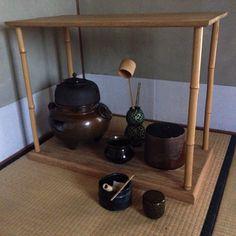 Tea ceremony set. photo © all right reserved Donald Kimon Lightner
