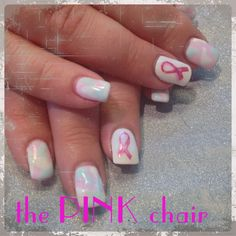 Camo in pale pink and mint green with pink ribbons to show support for Breast Cancer. Follow me on Instagram @Matt Nickles Valk Chuah Pink or on Facebook.com/thepinkchairsalon