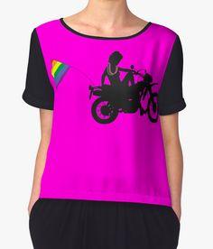 Chubby lesbians biker