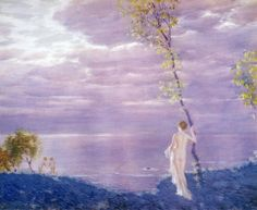 Summer Evening  Edward Dufner