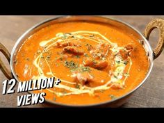 Learn how to make Butter Chicken, a heavenly chicken gravy recipe by Chef Varun Inamdar. Butter Chicken is probably one of the most popular Indian chicken re. Indian Chicken Recipes, Indian Butter Chicken, Indian Food Recipes, Indian Foods, Arabic Recipes, Chefs, Indian Cookbook, Fried Fish Recipes, Chicken Gravy