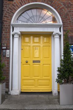 Belfast, Ireland is known for the beautiful and different doorways.