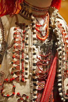 More neck adornment hutsul, W Ukraine