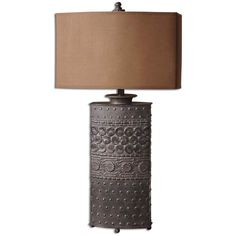 Uttermost Shakia Olive Bronze Table Lamp 27630-1