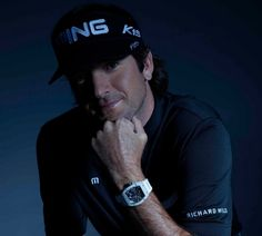 Richard Mille Sponsored Bubba Watson Wins Masters Wearing The RM038 Timepiece