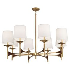 Robert Abbey Trigger Chandelier US$1909