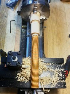 Lake Erie Toolworks, Wooden Vise Screw