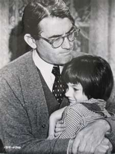 Atticus and Scout: To Kill a Mockingbird