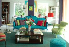 Living Room Decorating | Living Room Ideas | Pinterest | Colorful ...