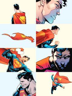Supes Photoset in Superman #3 (2016)