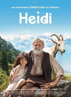 ***** Heidi, une jeune orpheline, part vivre chez son grand-père dans les montagnes des Alpes suisses. D'abord effrayée par ce vieil homme solitaire, elle apprend vite à l'aimer et découvre la beauté des alpages avec Peter, son nouvel ami. Mais la tante d'
