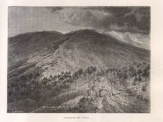 Catania, Mountains, Painting, Art, Volcanoes, Art Background, Painting Art, Kunst, Paintings
