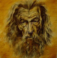 Gandalf el Gris by DavidFDZ on DeviantArt