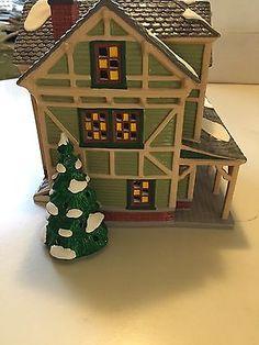 Department 56, Snow Village, Stick Style House no Light Cord & Bulb