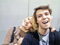 Robbie and Emilie  #ouat #onceuponatime #belle #peterpan