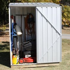 Found it at Wayfair - Spacesaver 5 Ft. W x 3 Ft. D Steel Tool Shed