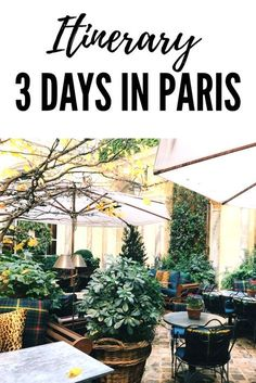 How to spend 3 days in Paris for a winter weekend!