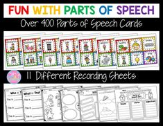 Fun With Parts of Speech