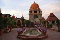 Mission Inn in Riverside California