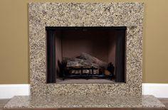 Venetian Gold Granite   Fireplace Surround Facing   MantelCraft