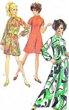 1960s Womens Jumpsuit Pattern Simplicity 7909 by paneenjerez, $10.00