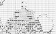 TEA FANTASY. Tea lovers dedicated! Three schemes for cross stitch or beads. Discussion on LiveInternet - Russian Service Online Diaries
