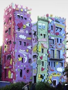 Rizzi building in Brunswick, Germany. looks funny and colorful, superb building. Have you tried this site: http://pinterest.com/travelfoxcom/pins/