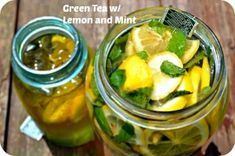 Green Tea with Lemon and Mint to help you lose weight faster. Drink 2 cups of Green tea daily to get the benefits of this healthy tea. Mint Recipes, Water Recipes, Keto Recipes, Healthy Recipes, Weight Loss Drinks, Healthy Weight Loss, Detox Drinks, Healthy Drinks, Healthy Foods
