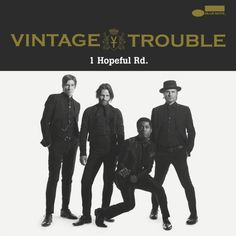 Listen to 1 Hopeful Rd. by VINTAGE TROUBLE on Deezer. With music streaming on Deezer you can discover more than 56 million tracks, create your own playlists, and share your favorite tracks with your friends. Work Music, New Music, Vintage Trouble, Jazz, Wall Of Sound, Music Albums, Lp Vinyl, Music Bands, Album Covers